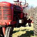 Old Time Tractor by Angela DiPietro