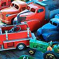Old Tin Toys by Steve McKinzie