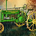 Old Tractor by Mary Almond