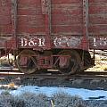 Old Train Boxcar by Amara Roberts