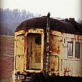 Old Train Car by Brenda Conrad