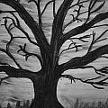 Old Tree With No Leaves by Mike M Burke