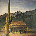 Old Tucson Home by Frank Hunter