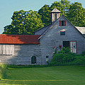 Old Vermont Barn by Nancy Griswold