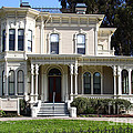 Old Victorian Camron-stanford House . Oakland California . 7d13440 by Wingsdomain Art and Photography