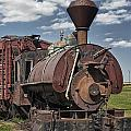 Old Vintage 1880's Railroad Train No.0394 by Randall Nyhof