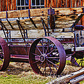 Old Wagon Bodie Ghost Town by Garry Gay