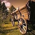 Old Wagon by Darren Greenwood