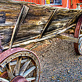 Old Wagon by Jon Berghoff