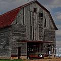 Old Wagon Older Barn by Alan Look