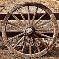 Old West Wheel by Kelley King