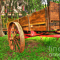 Old Wooden Cart by Paul Ward