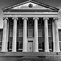 Ole Miss Lyceum Black And White by Joshua House