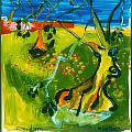 Olive Trees by David Martin