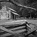 Oliver's Cabin In The Great Smokey Mountains by Randall Nyhof