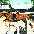 Oliver's Oxer by Phil Hopkins