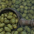 Olives Being Processed In Provence by Nicole Duplaix