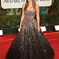 Olivia Wilde Wearing A Marchesa Gown by Everett