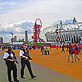 Olympic 2012 Stadium Security by Peter Allen