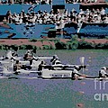 Olympic Rowing by George Pedro