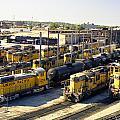 Omaha Union Pacific Maintenance Shops by John Bowers