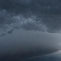 Ominous Clouds Edmonton by David Kleinsasser