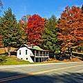 On A West Virginia Road Painted by Steve Harrington