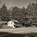 On A West Virginia Road Sepia by Steve Harrington
