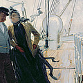 On Deck by Louis Anet Sabatier