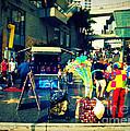 On Hollywood Boulevard In La by Susanne Van Hulst