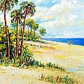On The Beach by Lou Ann Bagnall