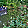 On The Canal by Shirley Mitchell