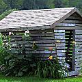 On The Farm - Corn Crib by Bob Johnson