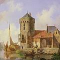 On The Rhine by Cornelius Springer