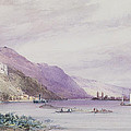 On The Rhine by William Callow