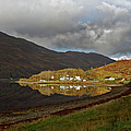 On The Shore Of Loch Duich by Gary Eason