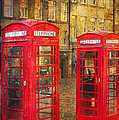 On The Streets Of Edinburgh  by Svetlana Sewell