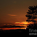 Onaping Canada Sunset 2 by Marjorie Imbeau