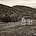 Once Upon A Mountainside Sepia by Steve Harrington