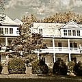 One Hundred Year Old Mountain Inn by Susan Leggett