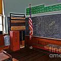 One Room Schoolhouse by Rich Walter