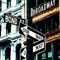 One Way Junction by Jenn Bodro