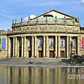 Opera And Theater Building In Stuttgart Germany by Matthias Hauser