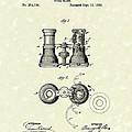 Opera Glass 1882 Patent Art by Prior Art Design