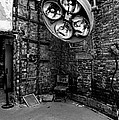 Operating Room - Eastern State Penitentiary - Black And White by Paul Ward