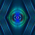Optical Blue by Carolyn Marshall