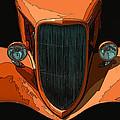Orange Jalopy by Samuel Sheats