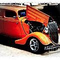 Orange Lighting II - No.9188 by Joe Finney
