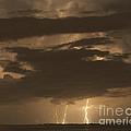 Orange Lightning by Stephen Whalen