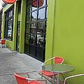 Orange Neon Coffee by Pamela Patch